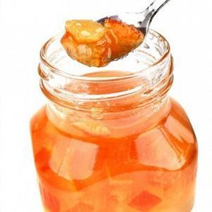 Варенье из очищенных апельсинов