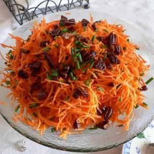 Еврейский морковный салат