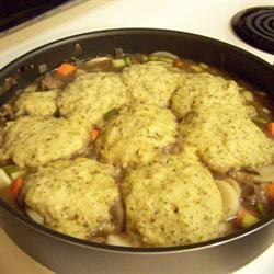 Ароматные клецки для супа