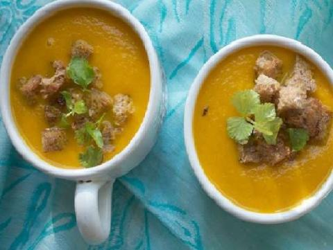 Быстрый морковный суп