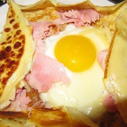 Французский завтрак(яичница)