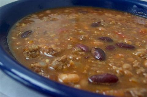 Рецепт супа с куриной печенью и фасолью