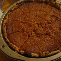 Вегетарианский пирог из тыквы