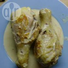 Курица в сметане в мультиварке