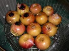 Яблоки, запеченные в аэрогриле.