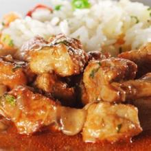 Мясо тушеное по‑арабски