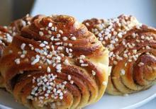 Ароматные европейские булочки к чаю