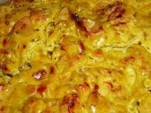 Курица, запеченная с сыром (фетой) в аэрогриле