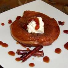 Десерт из айвы с корицей