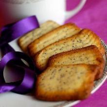 Песочное печенье с маком.