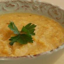 Суп из красной чечевицы по-арабски