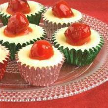 Ванильный десерт с ягодами