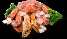 Блюда из мяса краба