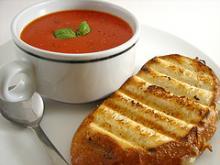 Томатный суп -пюре