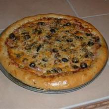 Чесночное тесто для вкусной пиццы
