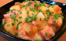 Рецепт картофеля с мясом по-домашнему