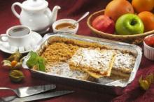 Песочное тесто для яблочного пирога