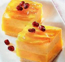 Рецепт персикового десерта