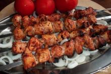 Шашлык из курицы по-грузински