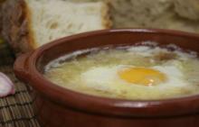 Чесночный суп - Sopa de ajo